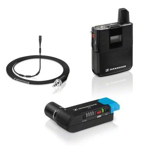 Sennheiser - AVX-MKE2 SET : Microphone sans fil numérique pour caméra.