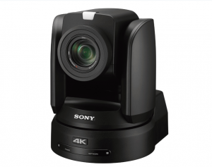 BRC-X1000 Sony camera mobile noire face
