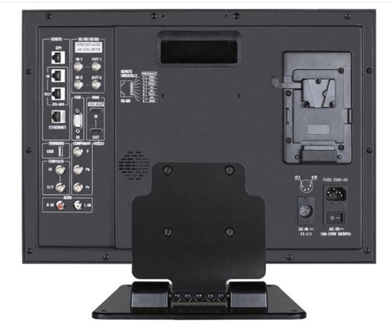 DT-G17E JVC Moniteur HD dos