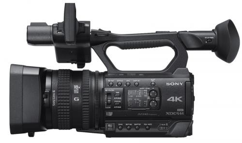 PXW-Z150 Sony vue 1
