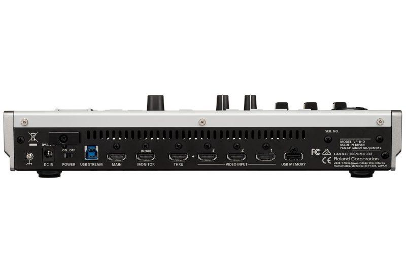 connectiques Roland - VR-1HD : Mélangeur de streaming