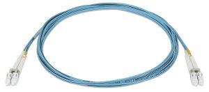 Câbles fibre optique duplex multimodes 2LC OM4 MM P d'Extron