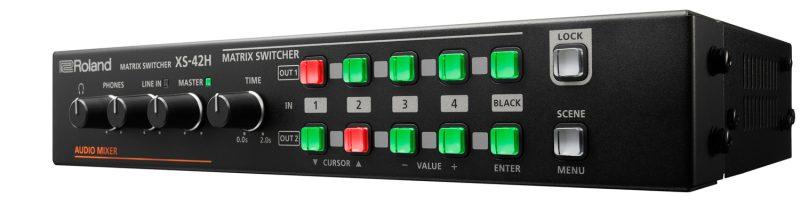 triaxe roland XS-42H Switcher