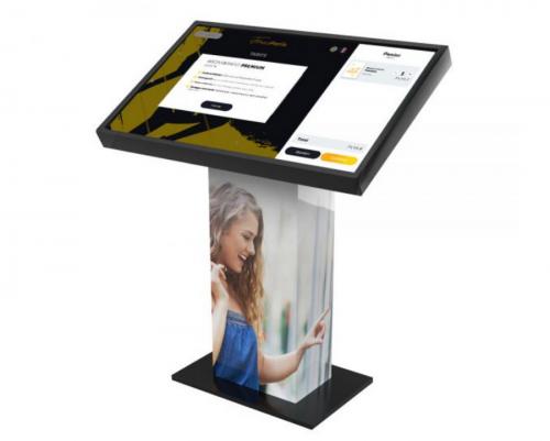 Borne écran tactile KIOSK XL 4K 49 pouces