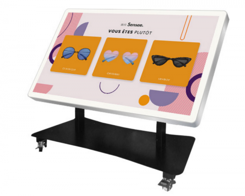 Table tactile INCLINABLE 65 pouces